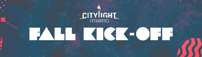 Student Ministry Fall Kick-Off