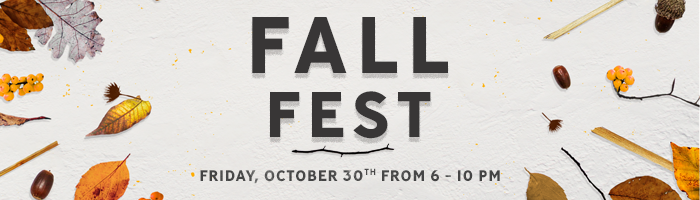 Student Ministry Fall Fest – October 30th @ 6 PM